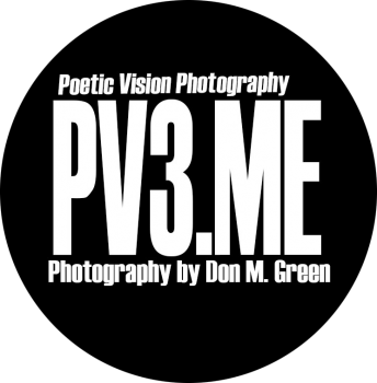 Award Winning photographer Mr Don M Green Logo for Poetic Vision Photography